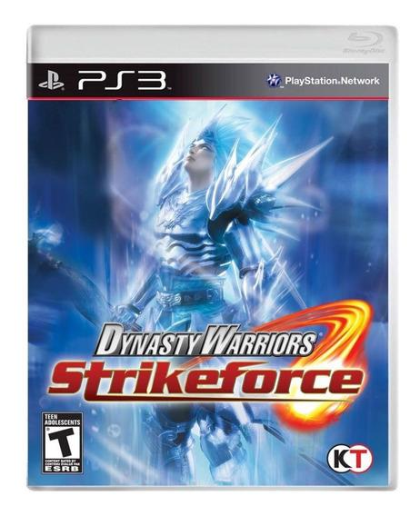 Jogo Dynasty Warriors Strikeforce Ps3 Usado
