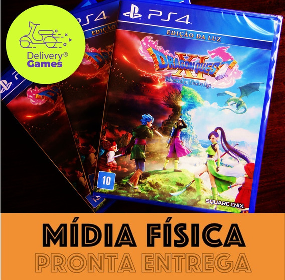 Dragon Quest Xi 11 Ps4 Mídia Física Lacrado Com Nf