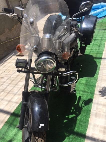 Patagonia 250cc Choper.para Viaje Baulera Y Maletas Rigidas