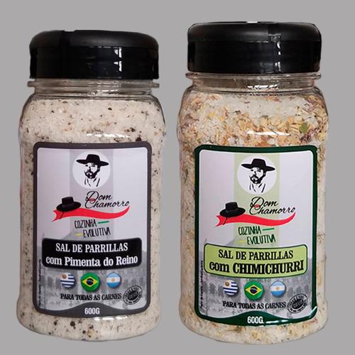 Kit Sal De Parrilla Chimichurri Pimenta/reino Dom Chamorro