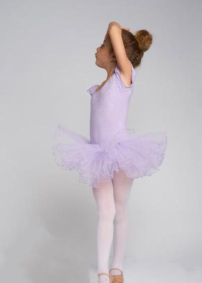 Malla Bailarina Danza Ballet Tutu Importada Nena Mod Lr