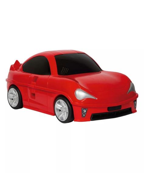 Mala Infantil Sestini Play Racing Speed Rc - Vermelho