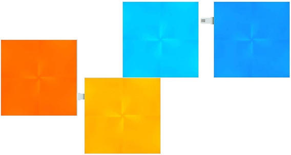 Paneles De Luz Smarthome - Edicion Canvas - Kit De Expansión