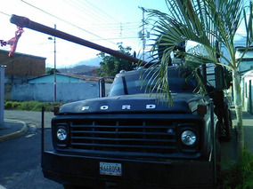 Remateeee Camion 750 Ford Con Brazo Hidraulico Incluido