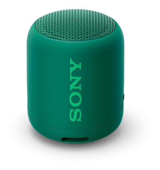 Caixa De Som Sony Srs-xb12 Extra Bass Bluetooth Speake Verde