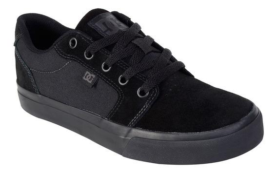 Dc Tênis Dc Shoes Anvil 2 La Preto / 38