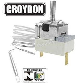 Termostato Regulador Bivolt Para Fritadeira Elétrica Croydon