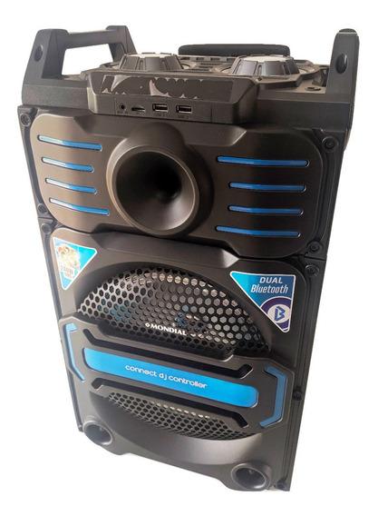 Caixa De Som Bluetooth Usb Cartão Sd Fm Subwoofer Novidade!!