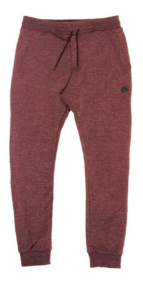 Jogging Billabong All Day Pant Boys Bordó Melange Niño