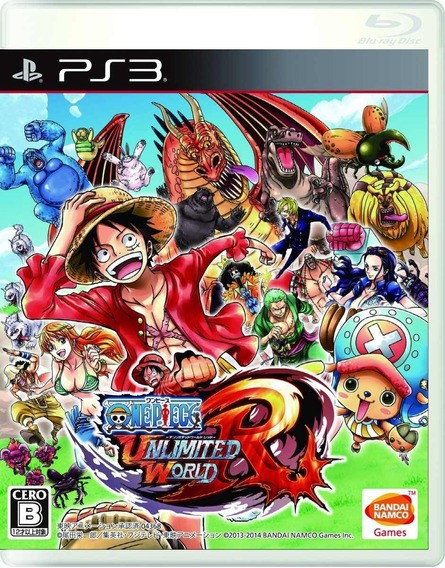 One Piece Unlimited World - Mídia Física - A Pronta Entrega