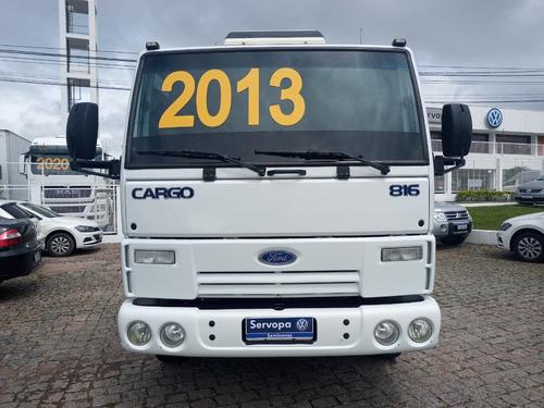 Ford Cargo 816 Ano 2012 Modelo 13