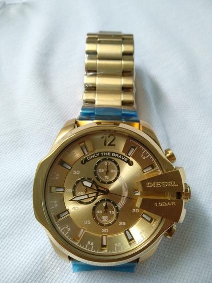 Relógio Diesel Dz-4360 Gold!
