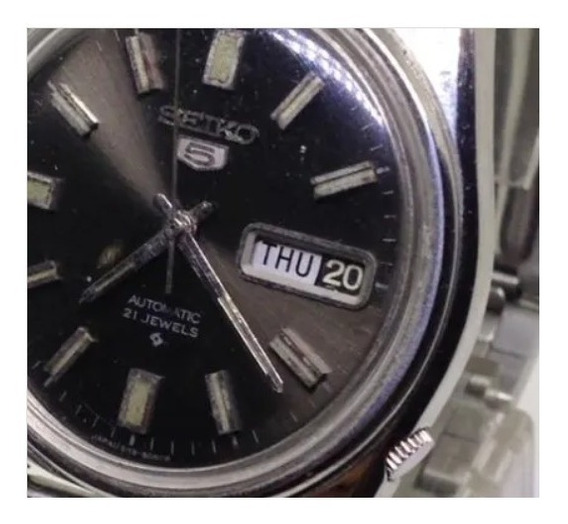 Relógio Pulso Seiko 5 Masculino Automático U06778 Webclock