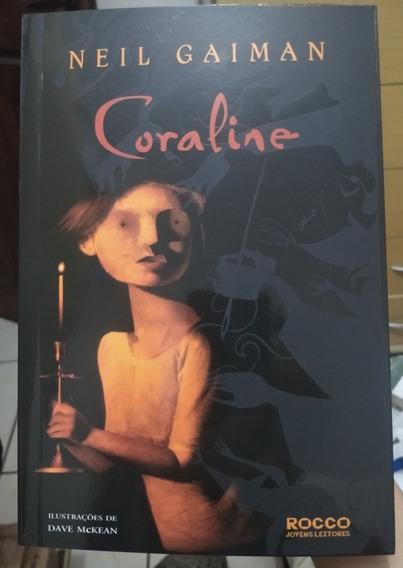 Livro Coraline Neil Gaiman - Novo