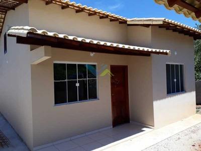 Casa Com 02 Quartos Em Terreno Com 450m² Próxima Ao Centro - Rj - Veca20232