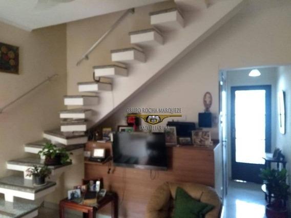 Sobrado Com 3 Dormitórios À Venda, 108 M² Por R$ 750.000,00 - Brás - São Paulo/sp - So1290