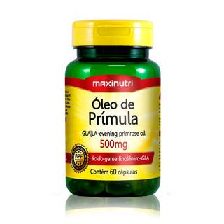 Óleo De Primula 500mg 60 Caps - Maxinutri