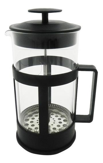 Cafetera Prensa Francesa Embolo 1 Litro Grd Vidrio Plastico
