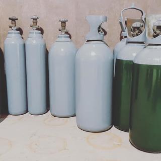 Tubos De 10 Kg De Co2 , Mezcla Y Nitrogeno