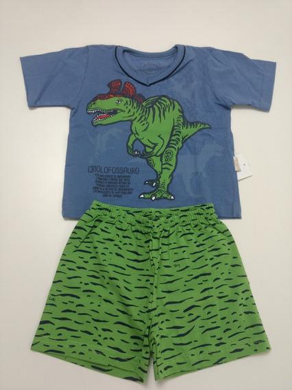 Pijama Infantil Dinossauro