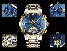Relógio Ultra Luxo Sofisticado Para Homens Especiais