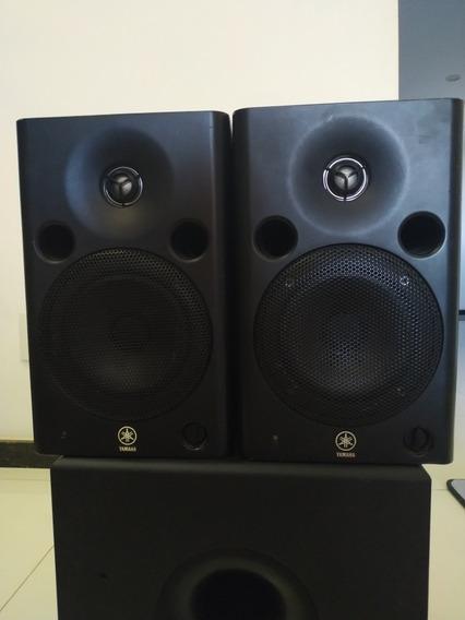 Par De Monitores Yamaha Mps5