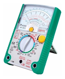 Multimetro Analogico Tester Proskit Mt2017 Profesional Lujo