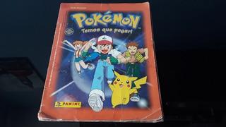 Álbum Figurinhas Pokémon Temos Que Pegar Completo Nintendo