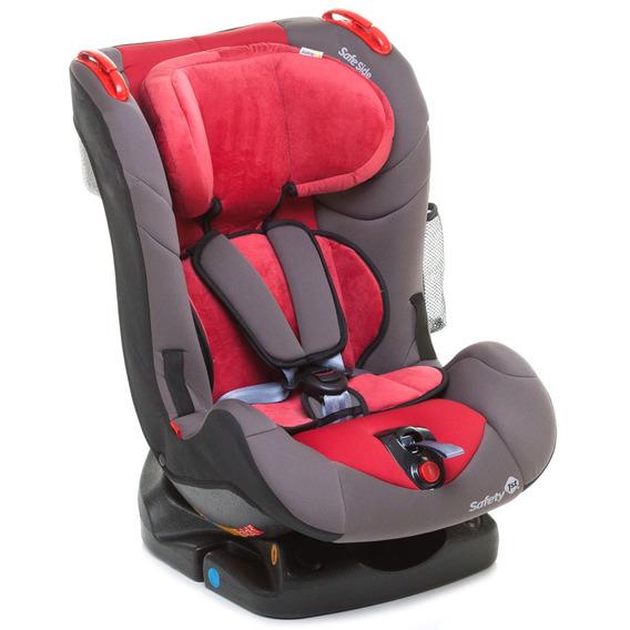 Cadeira Para Auto - De 0 A 25 Kg - Recline - Red Burn - Safe