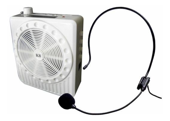 Amplificador Voz Portátil Professor Megafone Xzhang 150/810