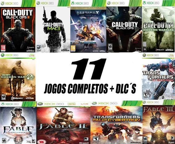 Pacote De 11 Jogos - Mídia Digital - Xbox 360