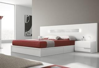 Dormitorio Minimalista Laqueado !!! Alai Muebles