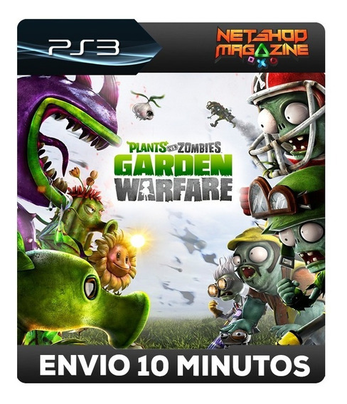 Plants Vs. Zombies Garden Warfare - Psn Ps3 - Envio Imediato