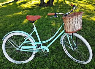 Bicicleta Vintage Belo Classic+mimbre+colores A Eleccion