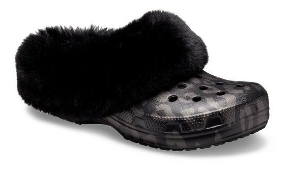 Crocs Classic Mammoth Luxemetallic Piel Black Original