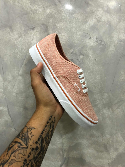 Vans Authentic Chambray Carnelian/true
