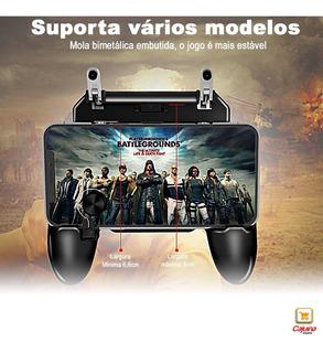 Gatilho Mira + Gamepad L1 R1 Controle + Analógico Celular