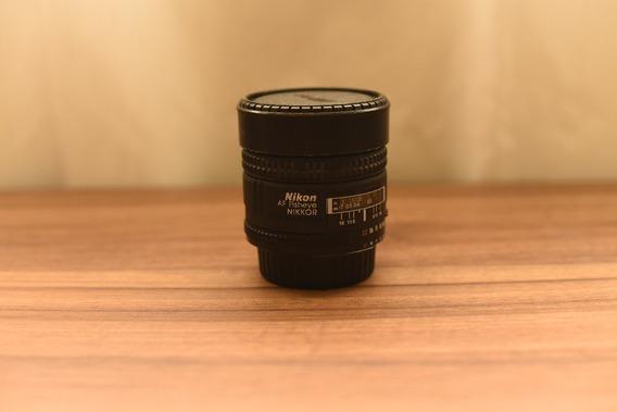 Lente Nikon Nikkor Fisheye 16mm F/2.8 D