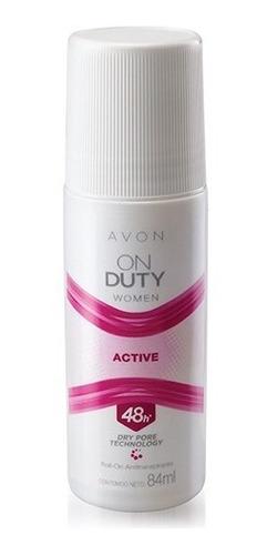 Desodorante Mujer Avon On Duty Active Roll-on 48h