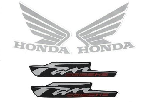 Kit Adesivos Honda Fan Cg 125 Ks 2013 Vermelha