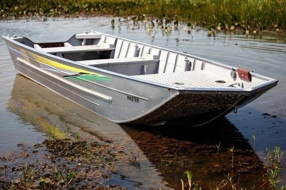 Barco De Alumínio Pontal Náutica Master Novo (nunca Usado)