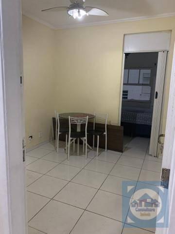 Kitnet Com 1 Dormitório Para Alugar, 50 M² Por R$ 1.300,00/mês - José Menino - Santos/sp - Kn0644