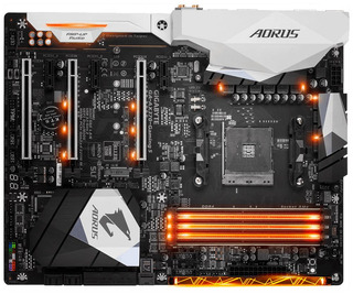 Mother Gigabyte Am4 X470 Aorus Ultra Gaming Para Ryzen 3 / 5 / 7 2da Y 3era Generación