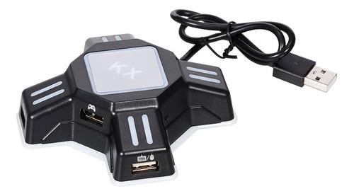 Kx - Adaptador Usb Móvil Para Juegos De Teclado Y Ratón