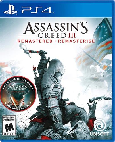 Imagen 1 de 5 de Assassin's Creed Iii Remastered - Playstation 4