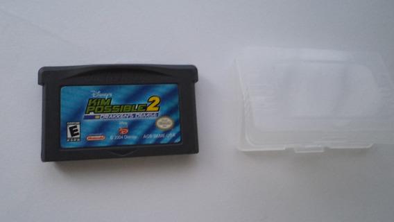Kim Possible 2 Gameboy Advance Caja Disney