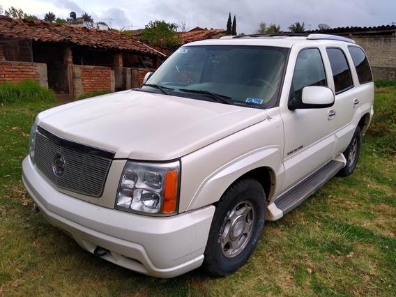 Cadillac Escalade Version De Lujo
