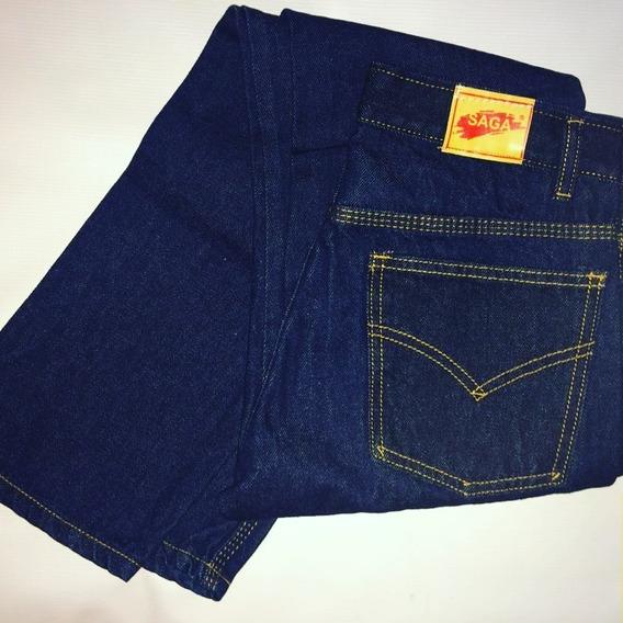 Jeans Triple Costura Saga Para Caballeros Y Damas.