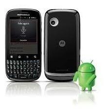 Moto Spice Key 3g Xt316 Só Vivo Usado G Android Wifi Gps