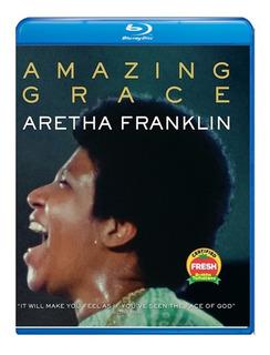 Aretha Franklin Amazin Grace Blu-ray Import Nuevo Original